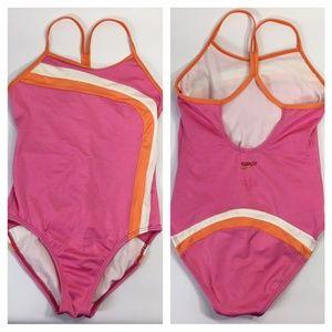 Speedo~One Piece~Racerback~Swim Suit~Girls~